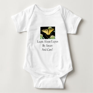 Learn About Lupus Be Aware And Care! Baby Bodysuit