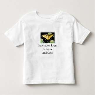 Learn About Lupus Be Aware And Care! T-shirts