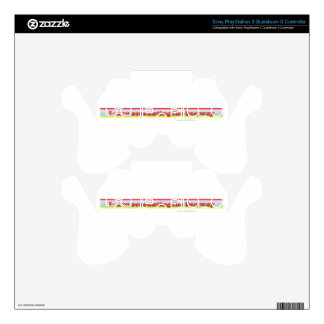 Learn accounting the fun way PS3 controller decals