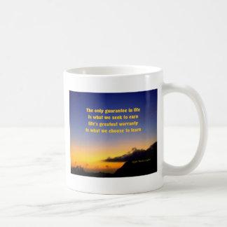 learn and earn coffee mug