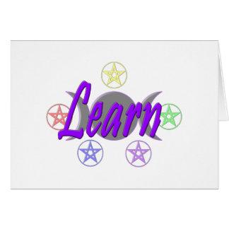 Learn Card