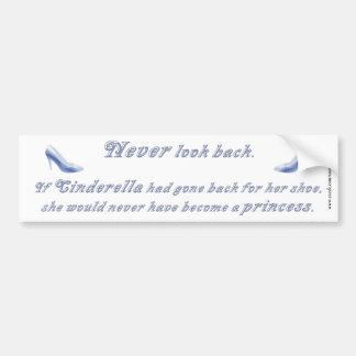 Learn from Cinderella's Shoe Car Bumper Sticker