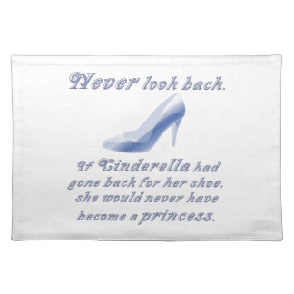 Learn from Cinderella's Shoe Cloth Placemat