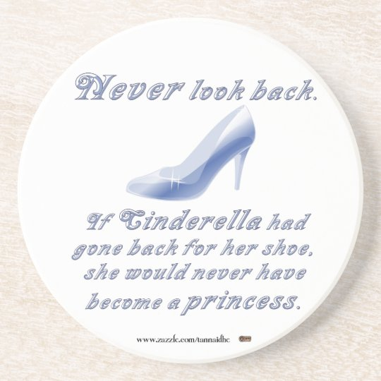 Learn from Cinderella's Shoe Sandstone Coaster