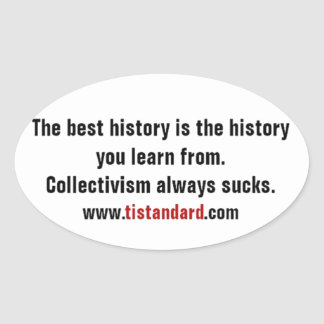 Learn from History Sticker