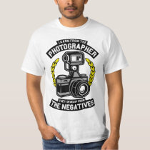 Learn From The Photographer Negatives T Shirt
