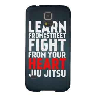 Learn from the street Jiu Jitsu black Galaxy S5 Cases