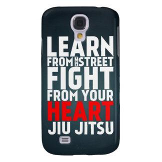 Learn from the street Jiu Jitsu black Samsung Galaxy S4 Case
