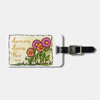 Learn From Yesterday Luggage Tag