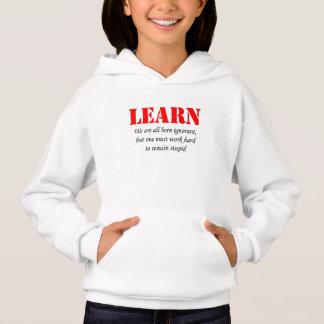 Learn Hoodie