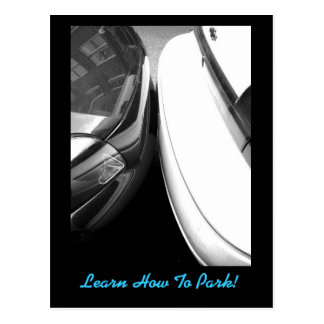 Learn How To Park! (New Orleans, LA) JoKeInK Postcard
