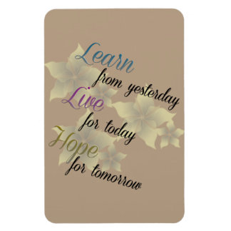 Learn Live Hope Magnet