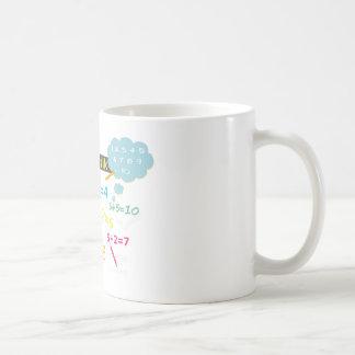 Learn math cup coffee mugs