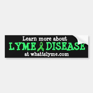 Learn more about Lyme Disease Bumper Sticker