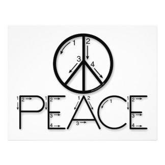 Learn Peace Flyer