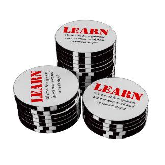 Learn Poker Chip Set