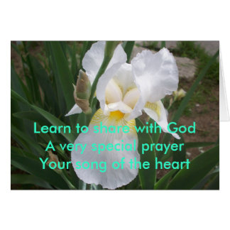 Learn -Share With God Greeting Card