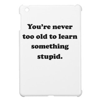 Learn Something Stupid Case For The iPad Mini
