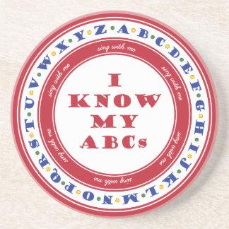 Learn the Alphabet Coaster