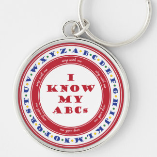Learn the Alphabet Keychain