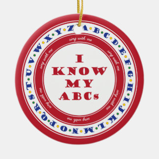 Learn the Alphabet Ornament