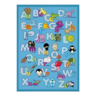 LEARN THE ALPHABET POSTERS