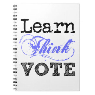 Learn Think Vote Notebook