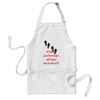 Learn to Dance Adult Apron