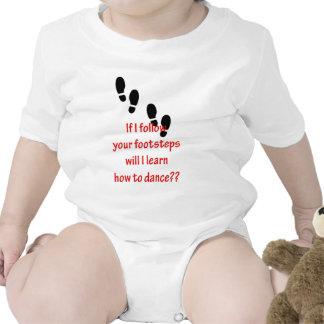Learn to Dance Baby Bodysuit