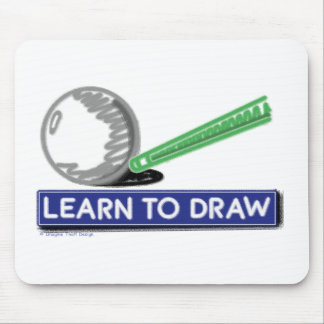Learn to Draw Mousepad