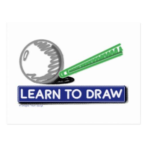 Learn to Draw Postcard