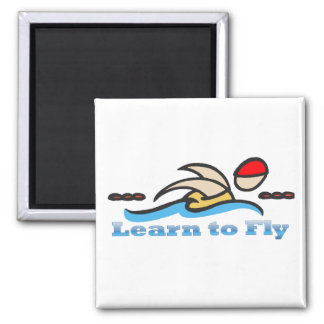 Learn to Fly Refrigerator Magnet