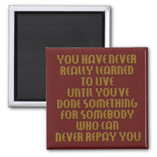 learn to live collection magnet