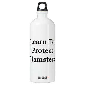 Learn To Protect Hamsters SIGG Traveler 1.0L Water Bottle