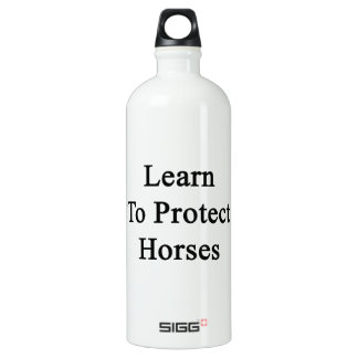 Learn To Protect Horses SIGG Traveler 1.0L Water Bottle