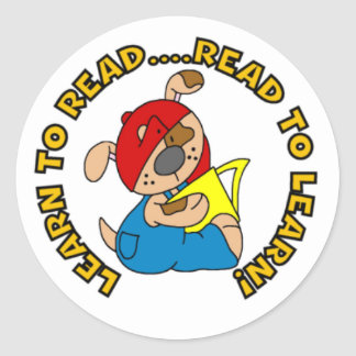 Learn to Read, Read to Learn Stickers