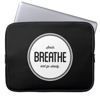Learn to Relax Inspirational Laptop Bag Laptop Computer Sleeve