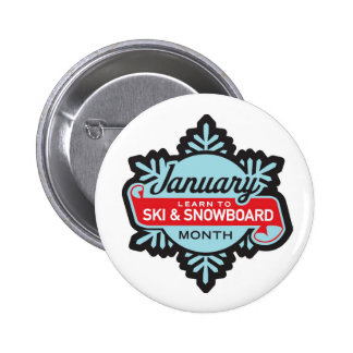 Learn to Ski and Snowboard Month Button