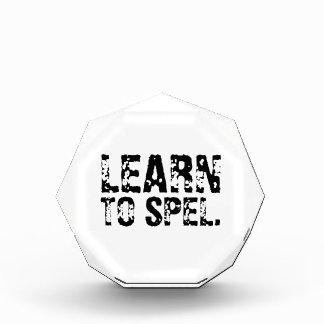 LEARN TO SPEL. AWARDS
