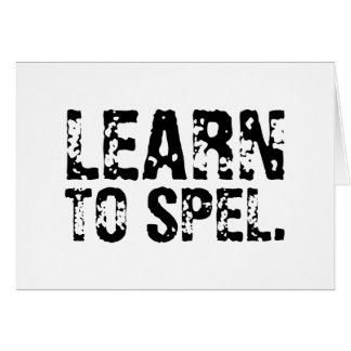 LEARN TO SPEL. CARDS