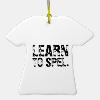 LEARN TO SPEL. ORNAMENT