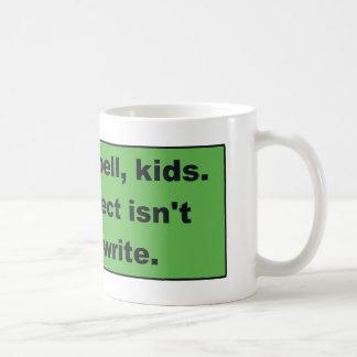 Learn to Spell Coffee Mug