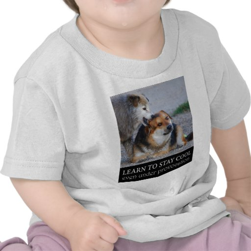learn to stay cool t shirts