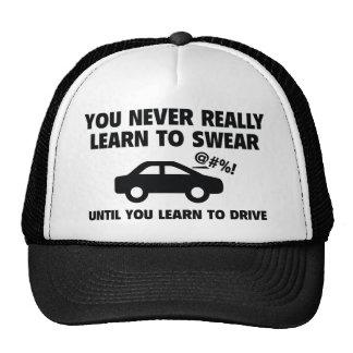 Learn To Swear Trucker Hat