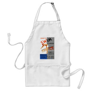 Learn To Swim Adult Apron
