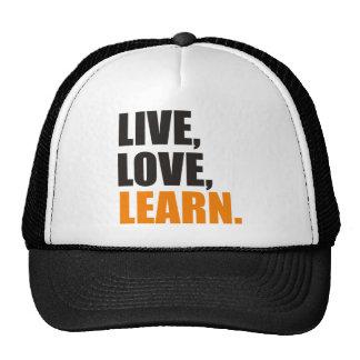 learn trucker hat