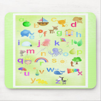 Learn your ABC - mouse mat Mouse Pad