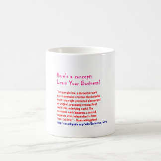 Learn Your Business Classic White Coffee Mug