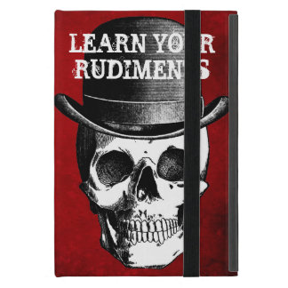 LEARN YOUR RUDIMENTS DRUMMER CASE FOR iPad MINI