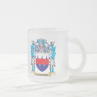 Learned Coat of Arms - Family Crest Mugs